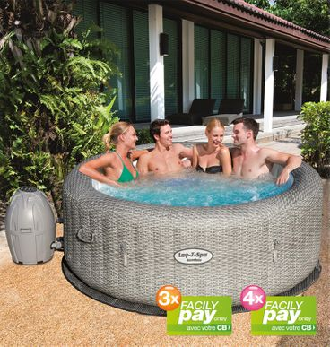 recognized brands nice cheap multiple colors SPA GONFLABLE BESTWAY LAY-Z HONOLULU | Cash Piscines