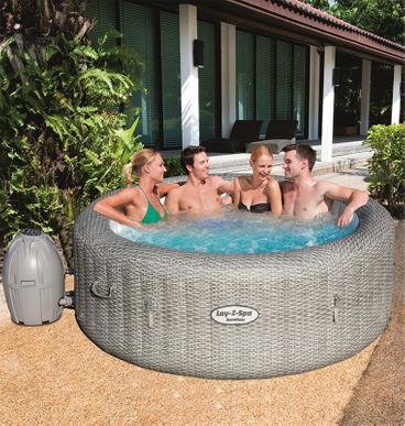 Spa Gonflable Bestway Lay Z Honolulu 4 6 Pers Cash Piscinas