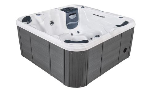 Spa sanway 6 places 201x201x89 saona cash piscines for Spa cash piscine