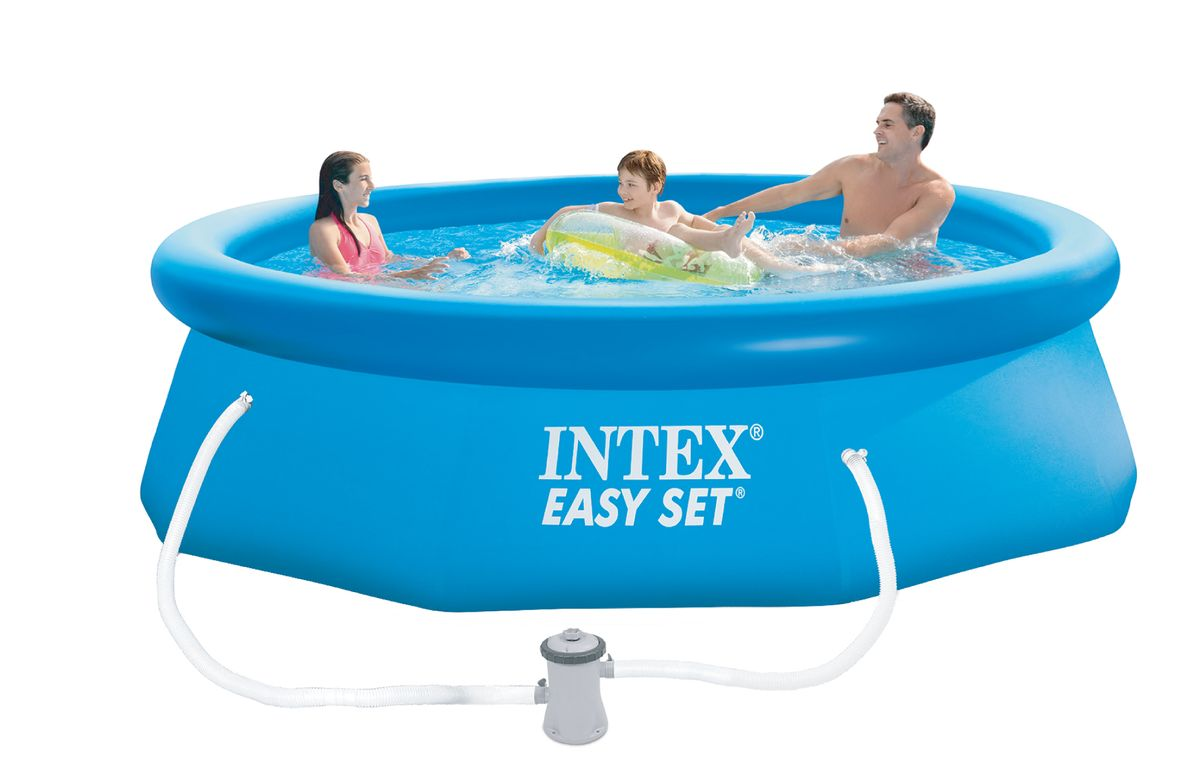 piscine intex easy set 3 05x0 76 cash piscines. Black Bedroom Furniture Sets. Home Design Ideas